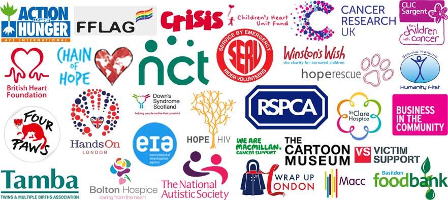 Safestore's Charity Partners