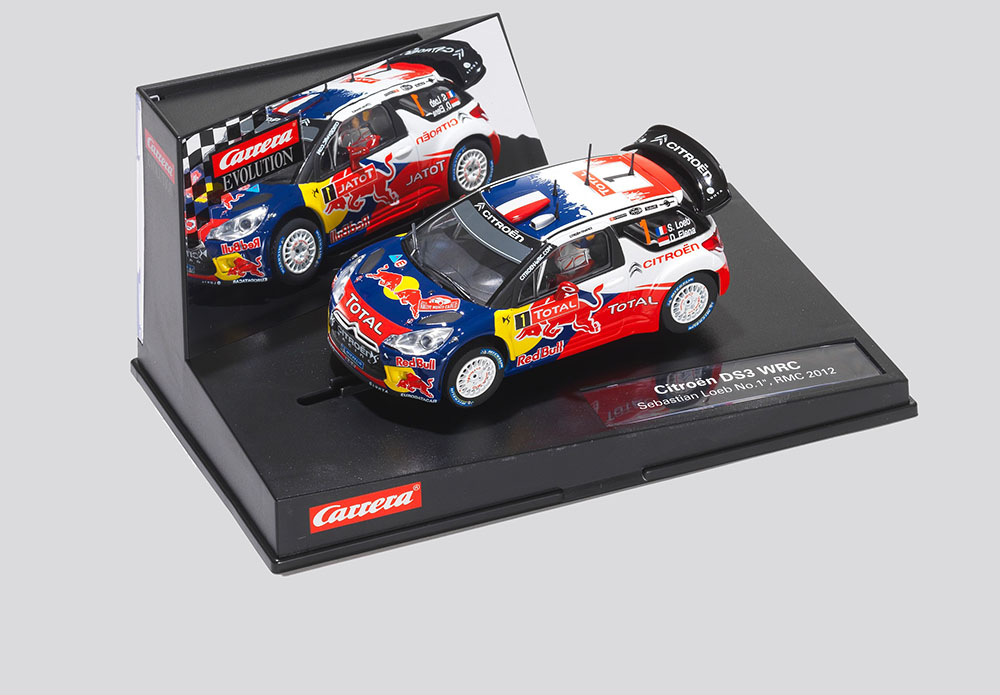 Red Bull Citroen Scalextric Car
