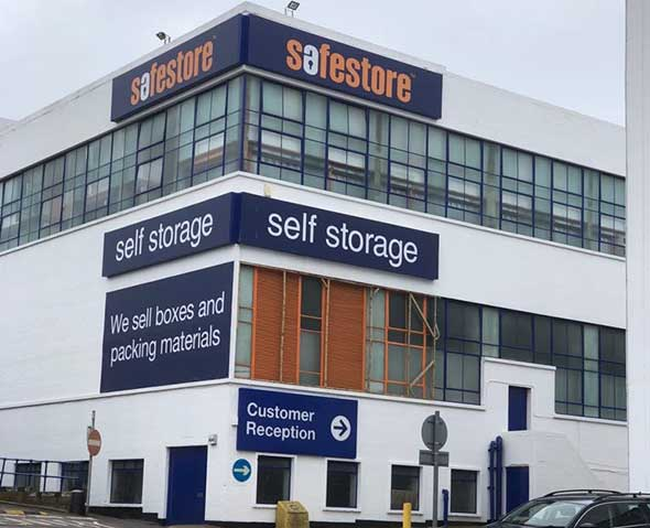 Self Storage In Brentford 50 Off For 8 Weeks At Safestore